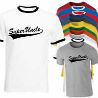Super Uncle Funny Mens T shirt Birthday Xmas Fathers Day Gift CHRISTMAS