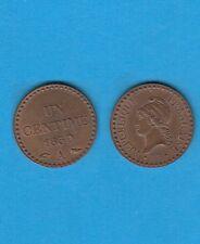 Deuxième République   1 centime type Dupré 1850  Paris