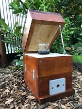 Stingless Native Beehive With Honey Jar Design | Stained | OATH Bee Hive