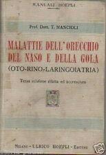 MEDICINA_ORECCHIO_NASO_GOLA_OTORINOLARINGOIATRIA_RARITA