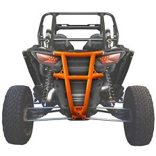 Custom Tube Steel Rear Bumper USA Made Polaris RZR Turbo 2 Seat Orange Madness