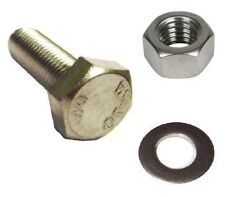 A2 Stainless M6 Nut, bolt & washer sets. 25 sets - Yamaha RD50LC