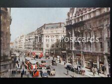Old PC - OXFORD CIRCUS & UPPER REGENT STREET, LONDON - J. Salmon, No.P10607