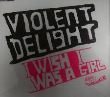 Violent Delight(CD Single)I Wish I Was A Girl-Wea-PRO3764-UK-2002-New