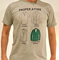 "JEL GOLF Fashion Shirt ""PROPER ATTIRE"" Masters Edition"