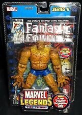 "Marvel Legends Series II THING (Fantastic Four/Ben Grimm) Rare! 6""/15cm New!"