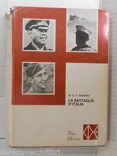LA BATTAGLIA D ITALIA W G F Jackson CDE Fatti e figure 1970 guerra mondiale di