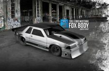 JConcepts 1991 Ford Mustang FOX Body LX Trunk Notch 5.0 1/10 Drag Racing JCO0362