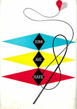"Cole Porter ""KISS ME KATE"" Patricia Morison / Julie Wilson 1951 London Program"