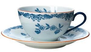 RÖRSTRAND Ostindia East Indies Kaffeetasse Tasse Untertasse