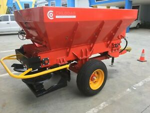 Chlodar Ag Belt and Chain Fertilizer and Compost Spreaders, 2T, 3T, 5T,