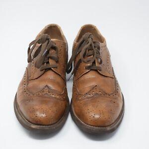 Aldo Men Size 41/ US 8 Brown Leather Oxfords