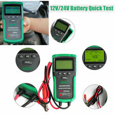 Automotive Battery Analyser Car Truck Starting Battery Tester Heath 12V&24V