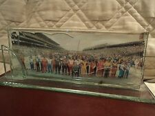 Indy 500 Picture In Glass Frame 80's Or 90's Era?