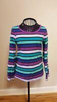 Girls Size XS (4/5) Faded Glory Striped Shirt