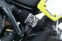 R&G RACING PAIR SHOCKTUBES REAR SHOCK ABSORBER PROTECTORS Yamaha X-MAX 400 2014