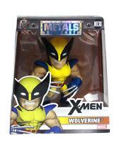 "Jada Toys Die-Cast Metals Wolverine 4"" Inch Figure X-Men Marvel Comics New M138"