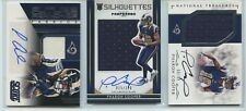 PHAROH COOPER 2016 RC AUTO JERSEY LOT-2 SCORE, CROWN ROYALE NATIONAL TREASURES