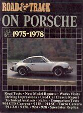 PORSCHE 904GTS 911S 911SC 911 Turbo Carrera 914 2.0 917K 924 928 prove su strada LIBRO