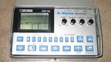 BATTERIA ELETTRONICA DRUM MACHINE BOSS DR-110 CON CUSTODIA DEL 1983 COME NUOVA