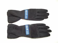 SPARCO KART DRIVING BLACK GLOVES SMALL SIZE 3 RACING KARTING
