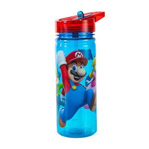 Stor Super Mario Kids Childrens 580ml Tritan Reusable Water Bottle, BPA Free