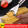 Kitchen Stainless Steel Corn Cob Stripper Cutter Peeler Thresher Remover Tool