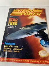 Nintendo Power 29 Star Trek October 1991 With Poster Attached