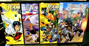 TEAM ONE Wildcats #1 & #2 TEAM ONE Stormwatch #1 & #2 Full Sets IMAGE COMICS VF