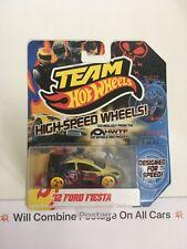 Team Hot Wheels Ford Fiesta Ruedas de alta velocidad
