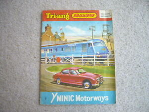 TRIANG HORNBY 10TH EDITION CATALOGUE 1964 FINE CONDITION & MINIC MOTORWAYS RARE