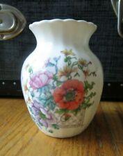 Royal Doulton made in England small bone china Olivia floral vase 1993