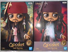 Q posket Disney Characters Jack Sparrow Figure set of 2 JAPAN BANPRESTO