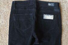 PAIGE VERDUGO LEGGING CORDUROY Jeans 25X30 NWT$195 USA-SEXY BLACK-STRETCH-SKINNY
