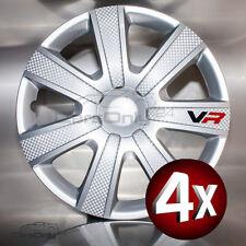 4x RADKAPPEN 16 ZOLL RADZIERBLENDEN TUNING FÜR VW MERCEDES OPER AUDI u.a.