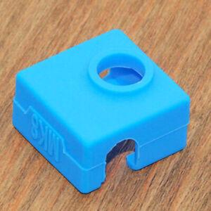 Silicone Socks Nozzle Block Heater Cover Cap for ANET A6/A8/E10/E12 3D Printer