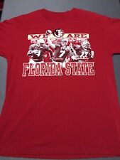 Vintage Florida State Seminoles Football T Shirt Medium Boldin Ponder Cromartie