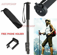 JUSTOP DSLR Camera Monopod Unipod Pole Walking Stick Stand Quick Release Head
