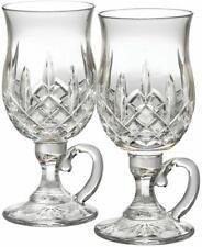 Waterford Lismore Irish Coffee Mugs Set of 2 Crystal Glasses #108068