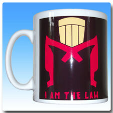Ceramic Mug featuring Judge Dredd inspired design