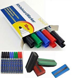 ✅ Whiteboardmarker 10er Set ✅ incl. Schwamm  ✅ Boardmarker ✅ Whiteboard Stifte