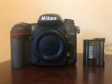 Used Nikon D7000 16.2MP Digital SLR Camera - Black (Body Only) #059