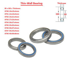 Thin-Wall Deep Groove Ball Bearing 6700 6701 6702 6703 6704 6705 6706 6707 6708