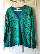 Pre-owned Isaac Mizrahi sweater, M, teal