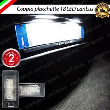 PLACCHETTE A LED LUCI TARGA 18 LED SPECIFICHE BMW SERIE 3 F30/F32 6000K NO ERROR