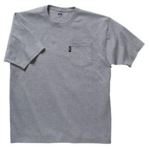 Key Short Sleeve Heavyweight Pocket T.  Key Short Sleeve Pocket T 820 LT Grey