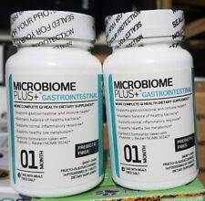 2 BOTTLES!  Microbiome Plus Gastrointestinal Prebiotics scFOS Prebiotic Fiber m