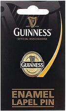 Guinness label metal  lapel pin badge Licensed product (sg 5061) MULTI BUY OFFER