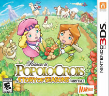 Return to PopoloCrois: A story of seasons Fairytale 3DS New Nintendo 3DS, ninten