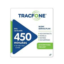 TracFone $79.99 Refill -- 450 Minutes/90 Days. Sale!